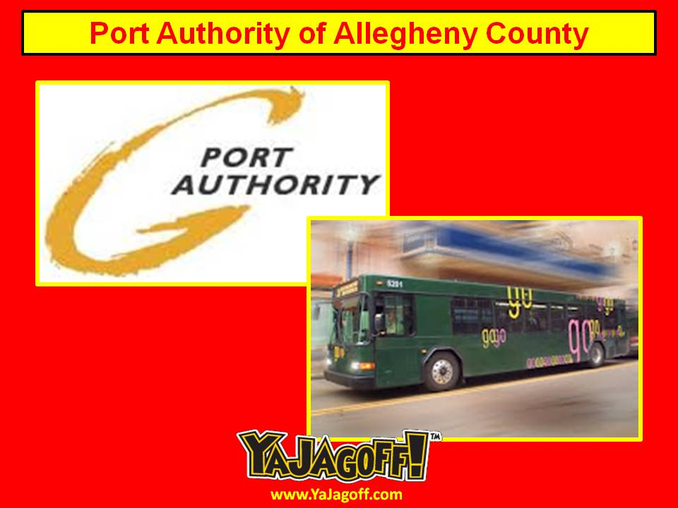 Port authority of allegheny county ya jagoff - Pittsburgh port authority ...
