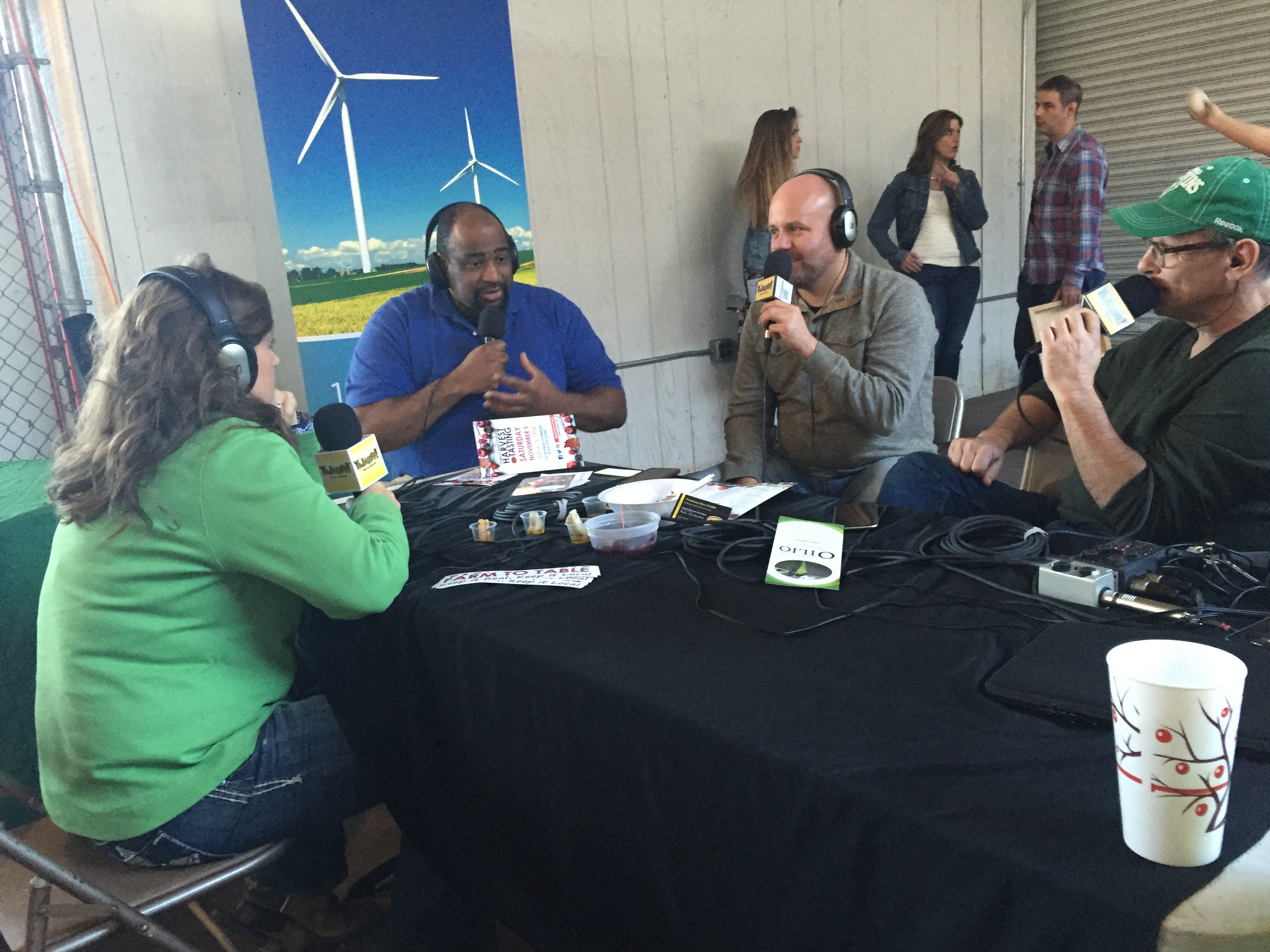 YaJagoff Podcast at Farm to Table