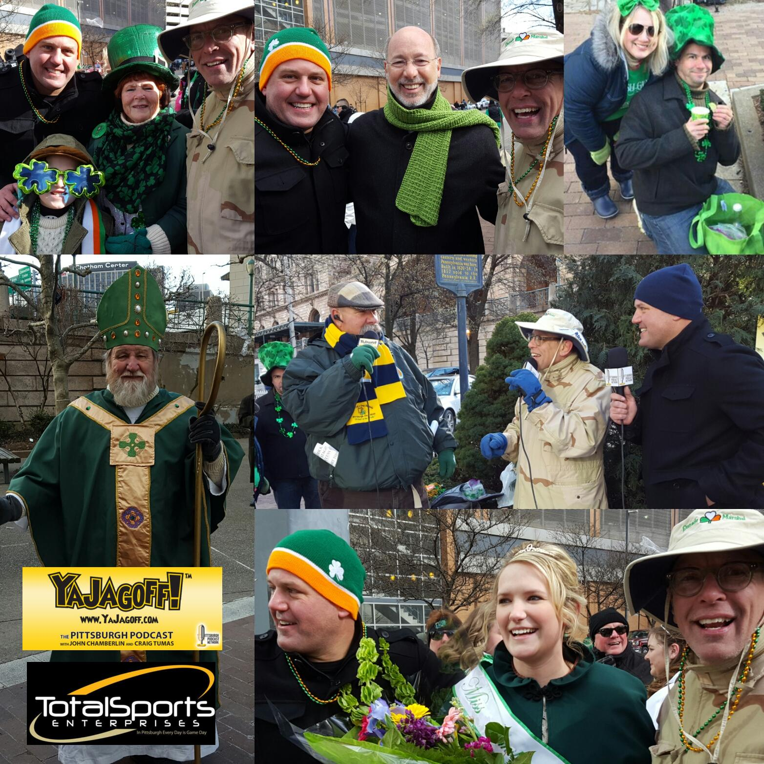 YaJagoff Podcast, Episode 61, From The St. Patrick's Day Parade