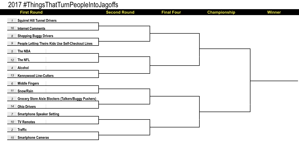 2017 Jagoffs Tournament, First Round, Day 2