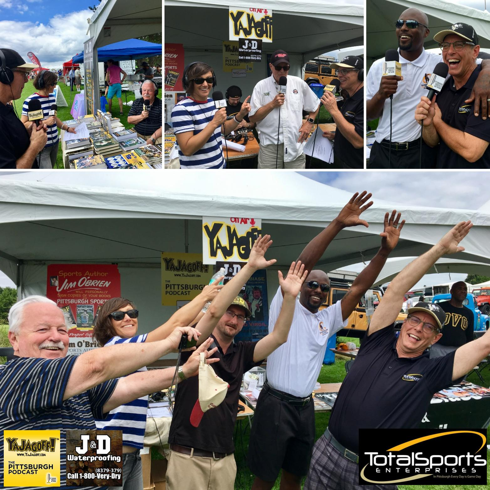 YaJagoff Podcast, Episode 78, Pittsburgh Vintage Grand Prix w Santonio Holmes