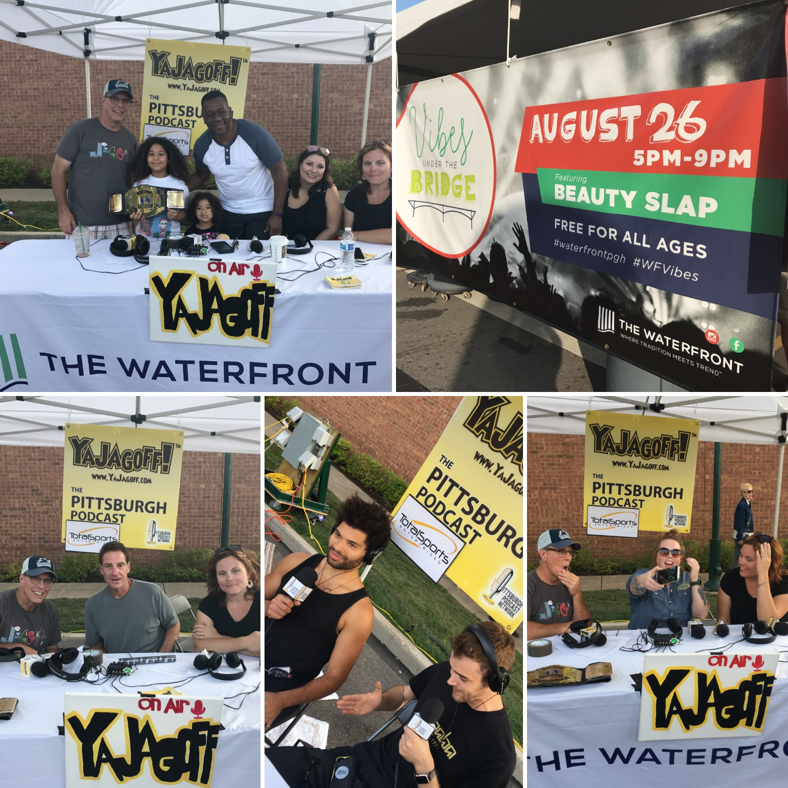 YaJagoff Podcast, Episode 83 – From The Waterfront Vibes Under the Bridge Party