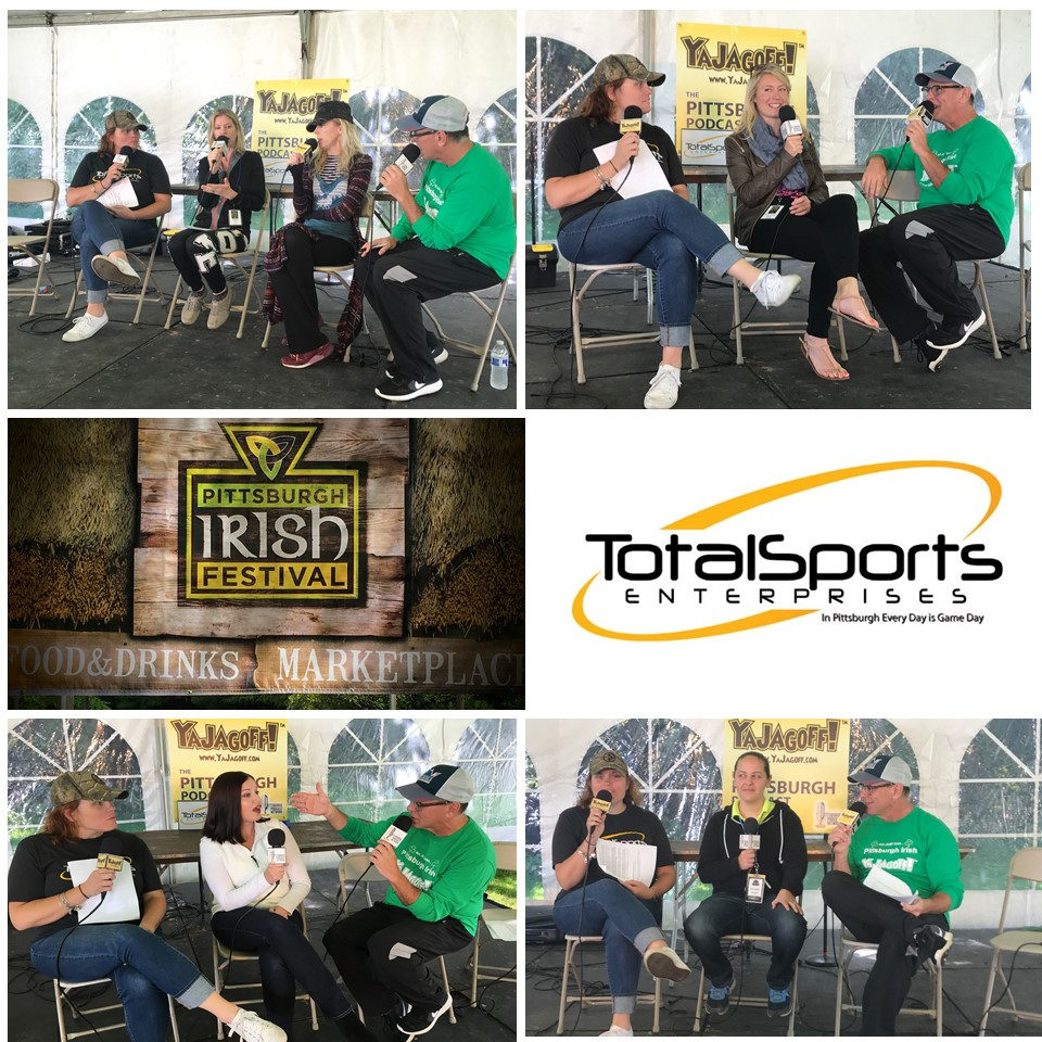 #YaJagoffPodcast – 85 From The Pittsburgh Irish Festival with an All-Female Cast (almost).