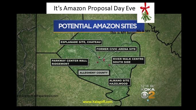 """It's Amazon """"P-Day"""" Eve"""