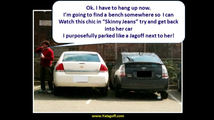 A Parking Space For Skinny Jeans People?