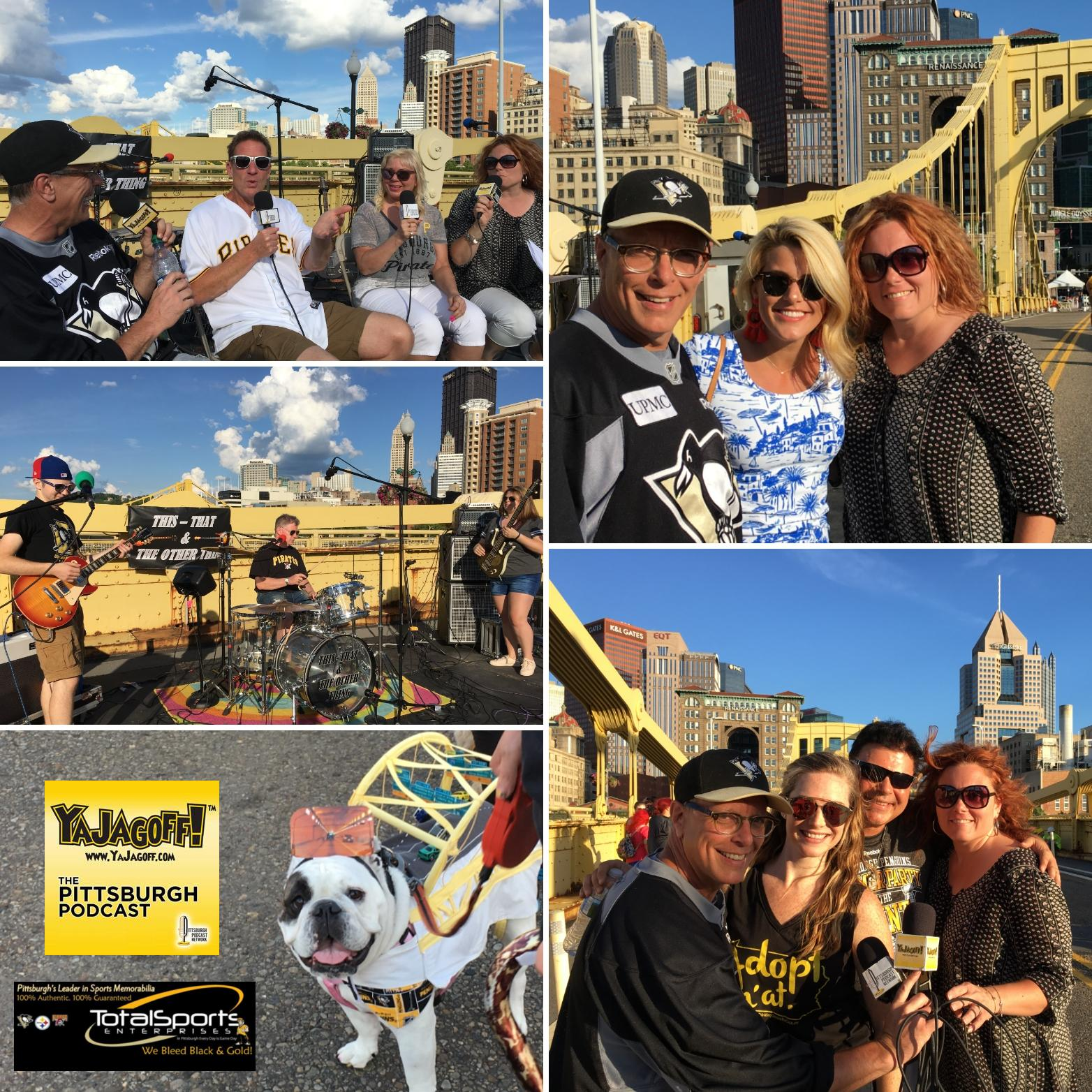 YaJagoff Podcast, Episode 76 – On the Clemente Bridge at Bark n'At