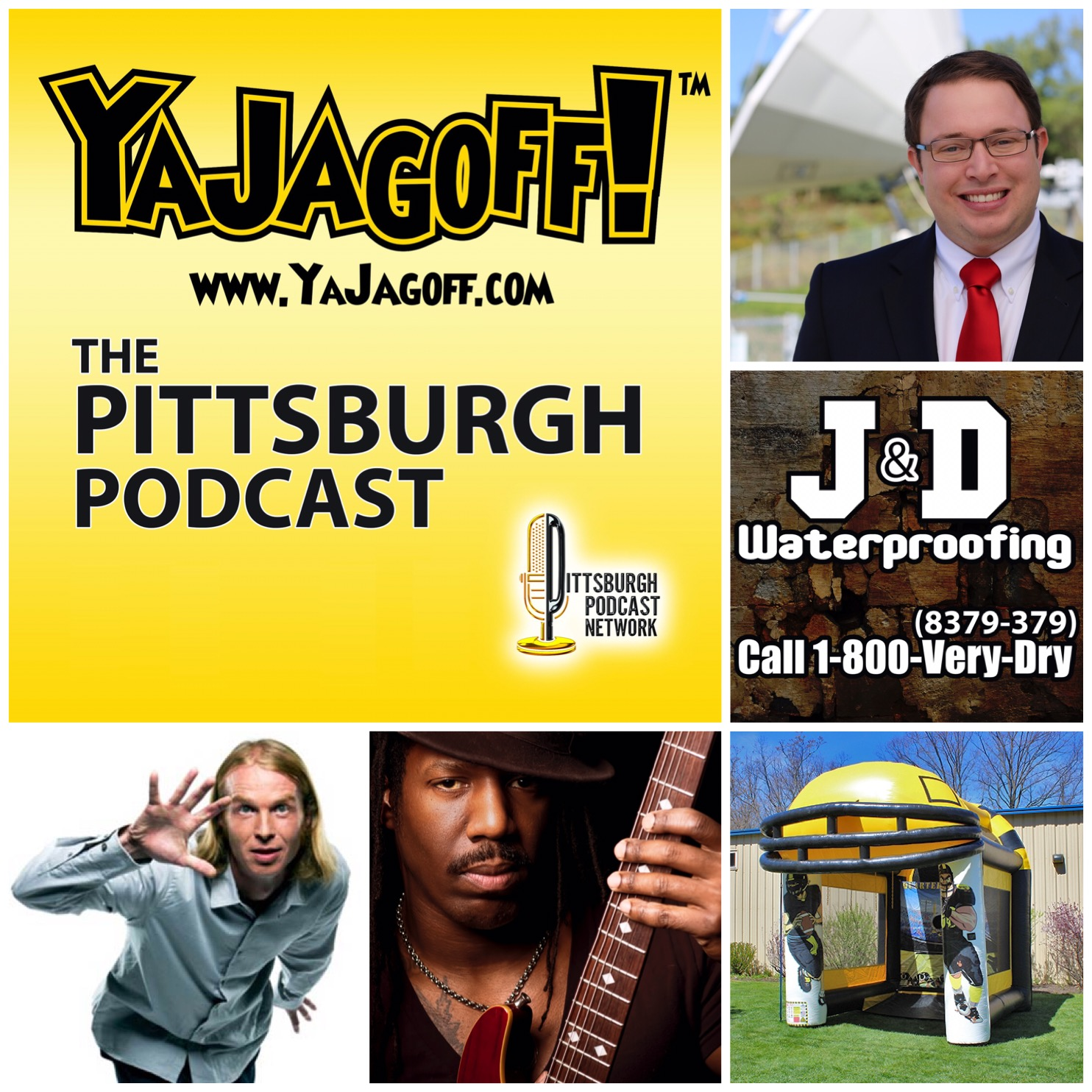 The First J & D Waterproofing YaJagoff Podcast Porch Tour Winner