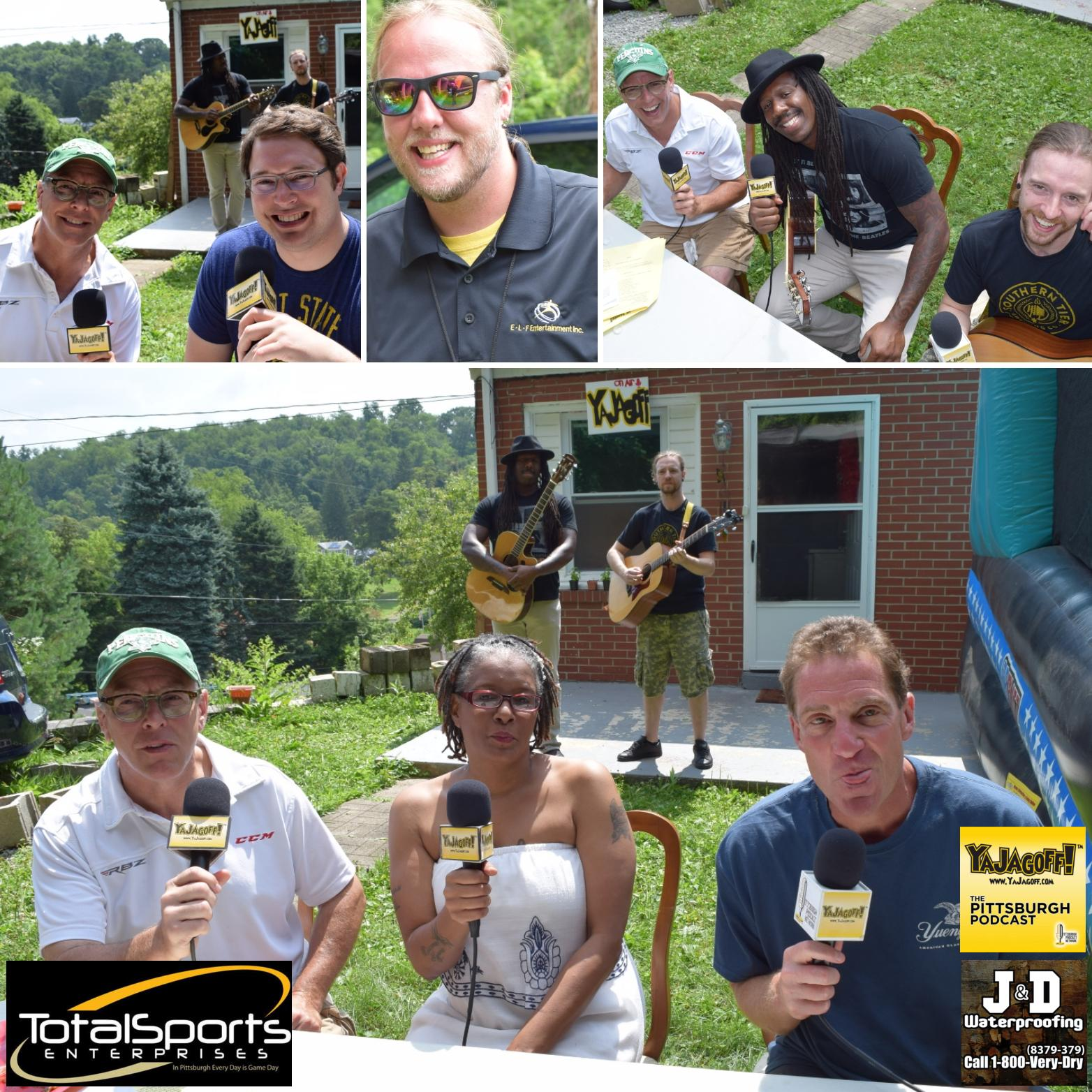 YaJagoff Podcast, Episode 77 – The First of 4 J & D Waterproofing Porch Tours!