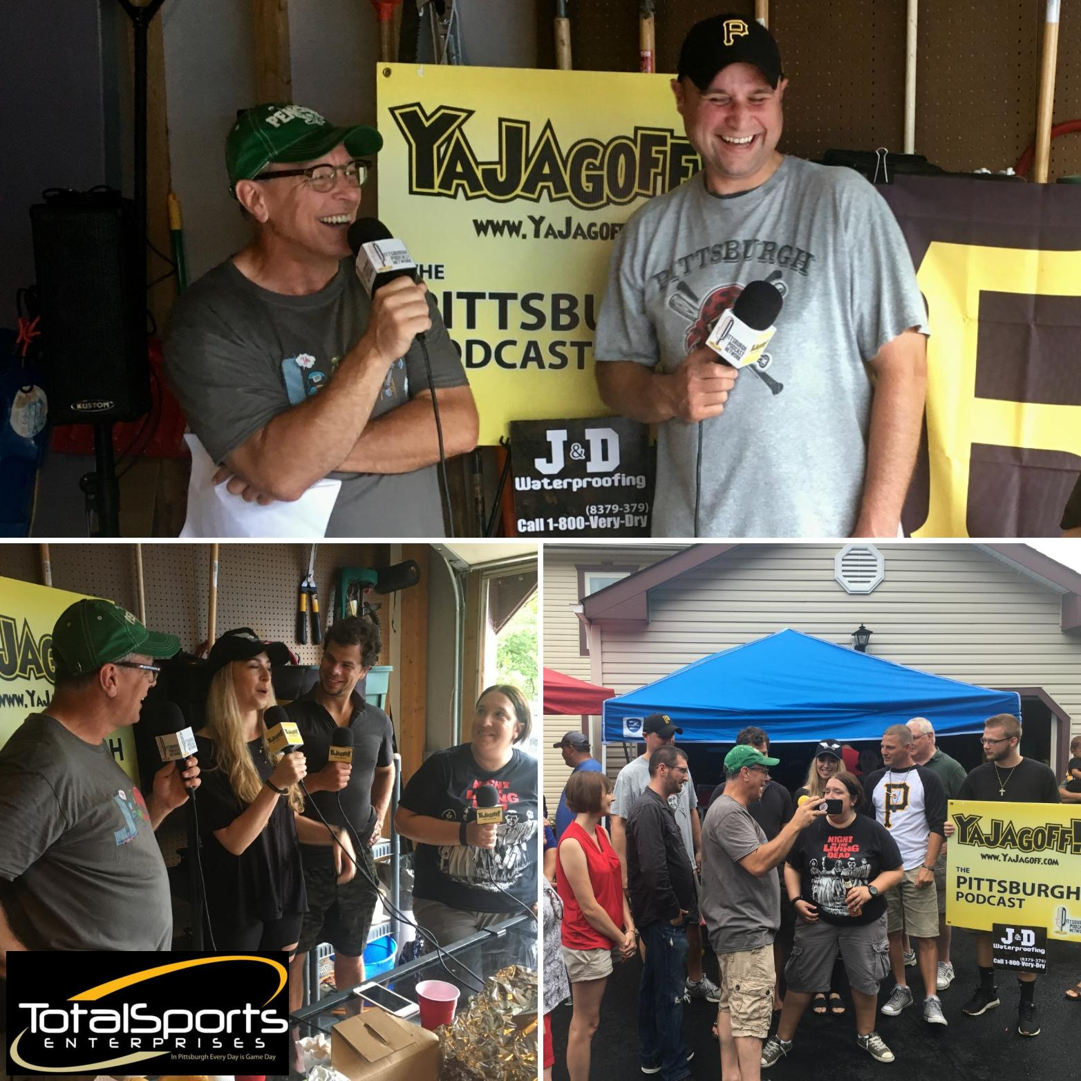 YaJagoff Podcast, Episode 79, Porch Podcast #2 With WTAE's Ray Petelin and Tyler & Brandi Kennedy