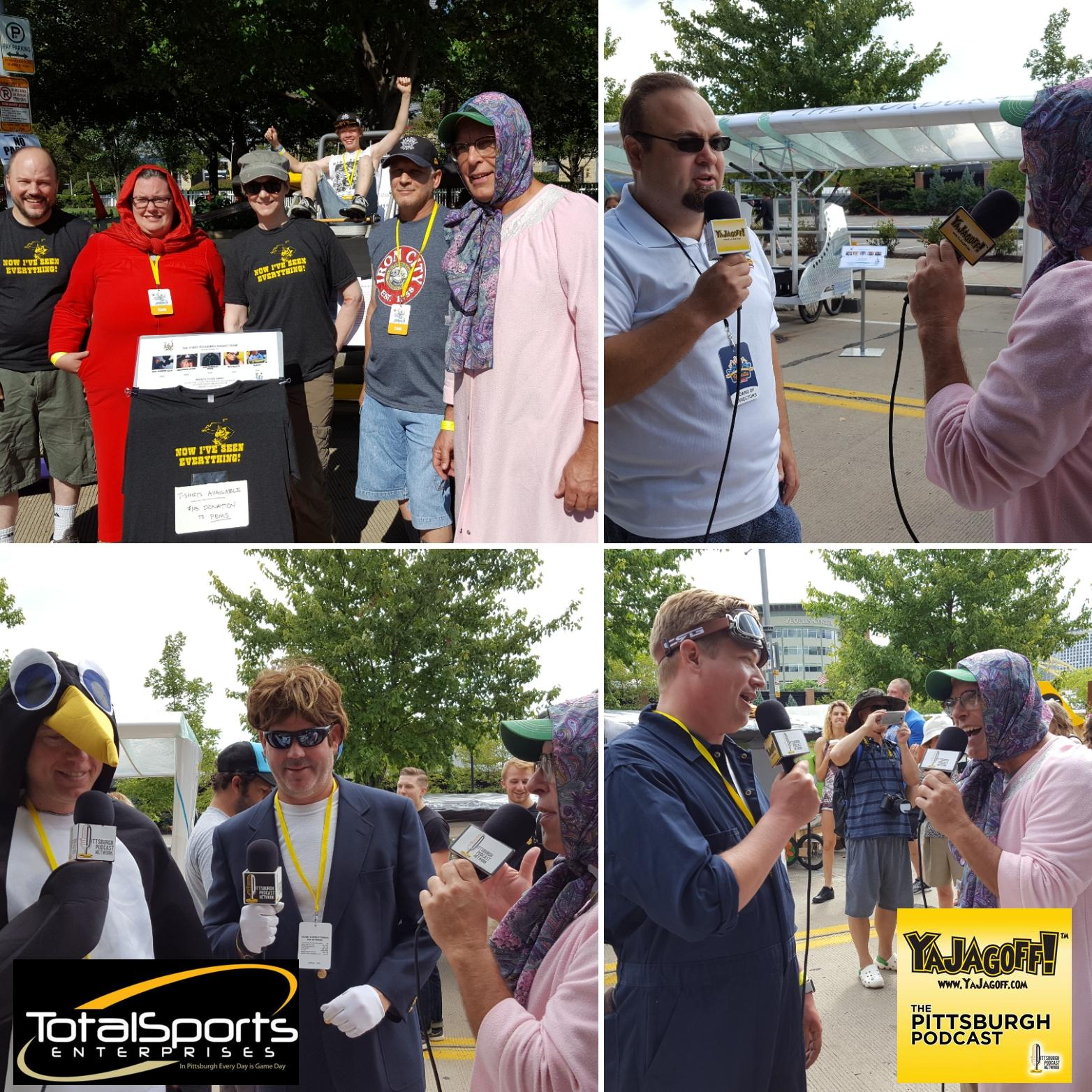 "YaJagoffPodcast / Episode 80 ""We Went to the EQT 3 Rivers Regatta Flugtag!"""