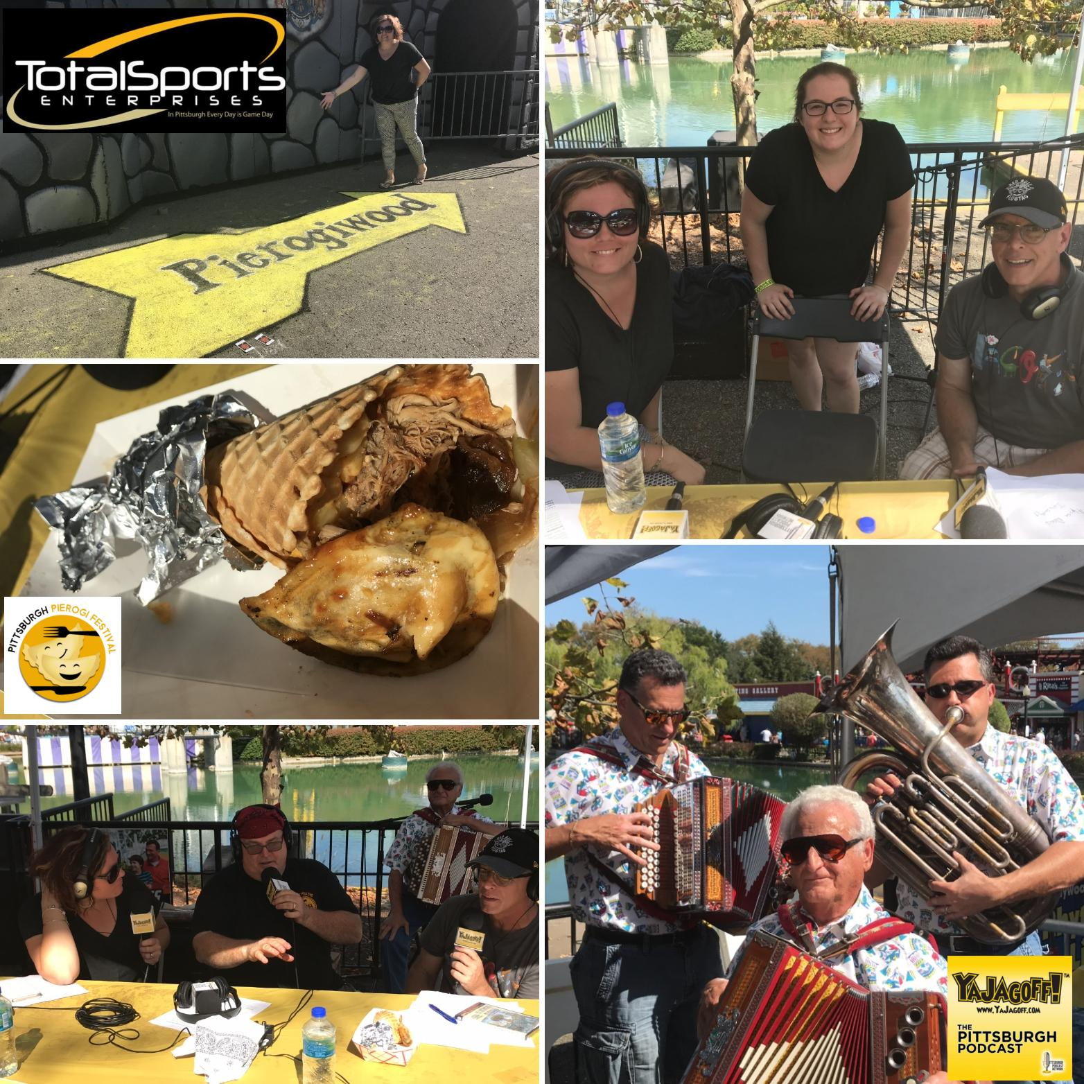 YaJagoff Podcast Episode 87 – We Are At Pierogi Festival 2018/Kennywood