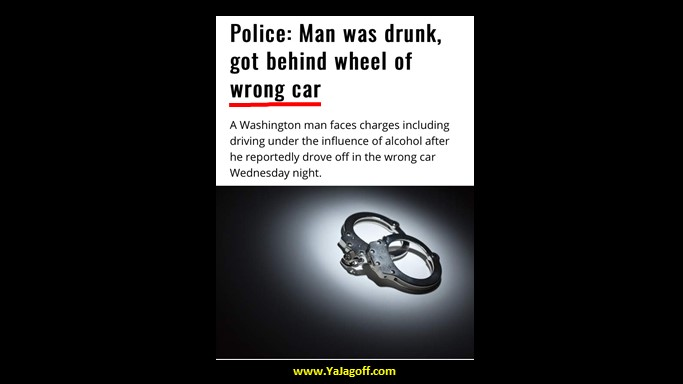 Wrong Car DUI?