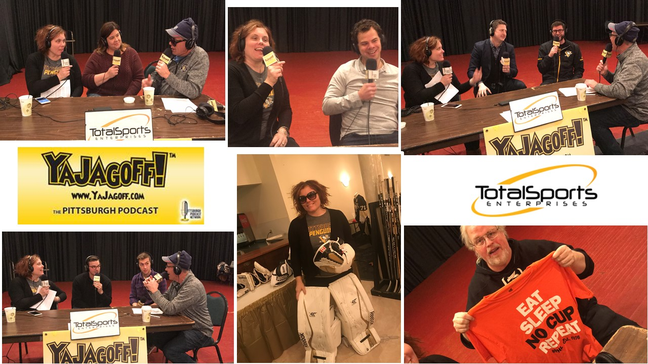 YaJagoff Podcast, Jagoff, Jagoffs, Colby Armstrong, Penguins, Pittsburgh, Winter Carnivale, Pittsburgh Emergency Medicine Foundation, Mark Madden, Super Genious